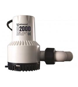 POMPE DI SENTINA ATTWOOD HD HD-2000 LT 126 BOCCA DA 30 MM 12 V