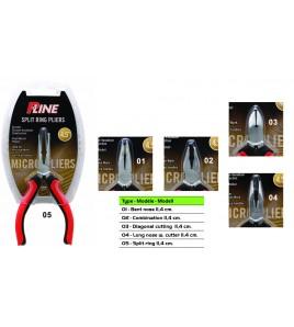 PINZA P-LINE MICRON PLIER BENT NOSE CM 11,4