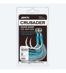 ASSIST POPPERS HOOKS BKK 8/0 SF CRUSADER RAZOR SHARP