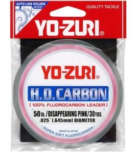 FILO YO-ZURY 50 LB MM 0,71 FLUOROCARBON PINK 30 YD
