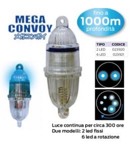 Luce Bolentino Profondo MEGA CONVOY Lumica Fino 1000 MT Luce 2 LED