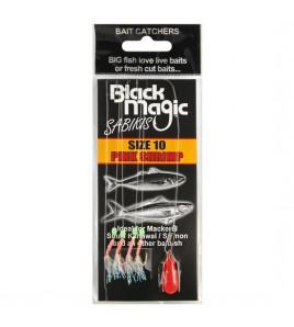 Sabiki Black Magic Bait Sabikis PINCK SHRIMP misura Amo 10