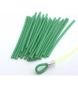 Protezione Terminale Traina Vinyl Verde 20 PZ DIAMETRO MM 1,00