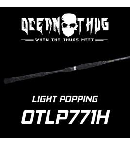 CANNA DA POPPING BONE RODS FISHING OTLP771H PIEDI 7,7 Ocean Thug Light Pop PE3.0-6.0