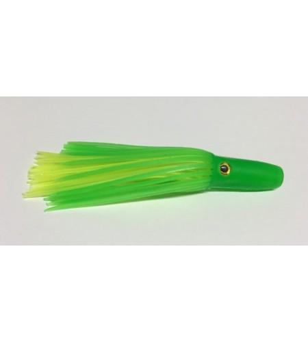Kona Artificiale Traina in Silicone Testa Morbida Mold Green cm 12