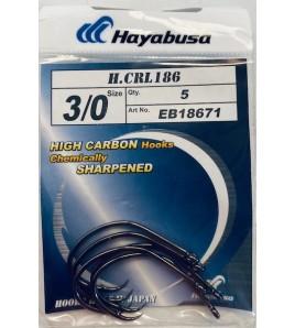 AMO HAYABUSA HCRL 186 CIRCLE MISURA 3/0 CONFEZIONE 5 PZ