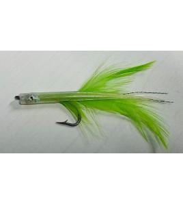 Artificiale Silicone Tuna Killer Clear Verde cm 8