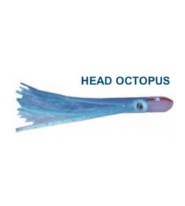 Artificiale head Octopus Blue Bianco cm 12 Gr 18