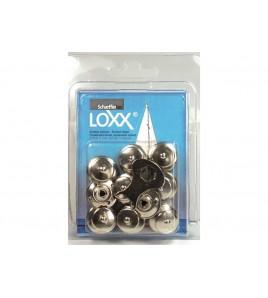 8 BOTTONI LOXX - TENAX IN BLISTER
