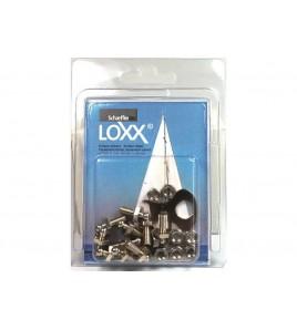 10 VITI CON DADO LOXX - TENAX IN BLISTER