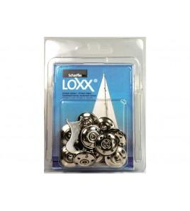10 BASI ATTACCO TESSUTO LOXX - TENAX IN BLISTER