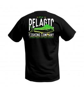 MAGLIA MANICA CORTA PELAGIC FISH CO. ARC T-SHIRT BLACK