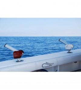 PORTACANNE GIREVOLE TG Colore Rosso Zambofishing