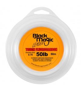 FILO TOUGH FLUOROCARBON BLACK MAGIC DIAMETRO 50 LB MM 070 BOBINE DA 50 MT