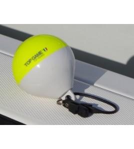 Boetta Galleggiante ad alta visibilità per il Big Game - Small - COMBI Giallo Fluo