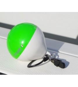 Boetta Galleggiante ad alta visibilità per il Big Game - Small - COMBI Verde Fluo