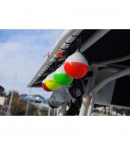 Boetta Galleggiante ad alta visibilità per il Big Game - Small - COMBI Nero