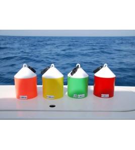 Boetta Galleggiante ad alta visibilità per il Big Game - Large - COMBI 4 Colori