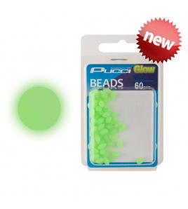 Perline PUCCI SOFT GREEN GLOW BEADS TONDE 6 MM 48 PZ