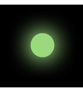 Perline PUCCI SOFT GREEN GLOW BEADS TONDE 8 MM 36 PZ