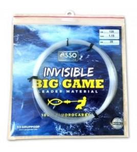 FILO ASSO INVISIBLE BIG GAME LB 50 MM 70 MT 20 FLUOROCARBON