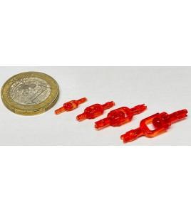Girella 25 LB BLOODY RED AQUATEKO INVISASWIVEL Fluorocarbon