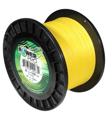 Powe Pro Spectra mm 0,32 KG 24 LB 53 Colore GIALLO 4 Fili