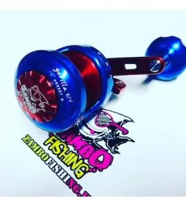 Mulinello Alutecnos Albacore Gorilla 6V Blu Rosso