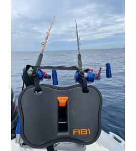 Cinture Combattimento AB1CARBONIO Versione Arancio STRUTTURALE 650 GR TONNI E BIG FISH