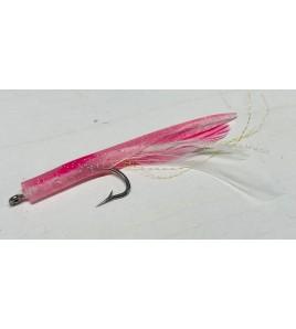 Artificiale Silicone Tuna Kona White Pink Cm 9