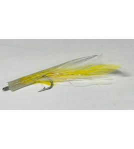 Artificiale Silicone Tuna Kona Yellow White Cristal Cm 9