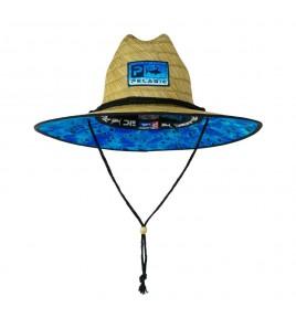 CAPPELLINO PELAGIC BAJA STRAW FISHING HAT DORADO HEX BLUE