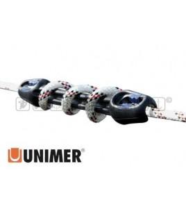 AMMORTIZZATORI DA ORMEGGIO UNIMER U CLEAT Lunga 412 mm Cima da 12/16 MM