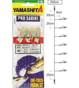 Sabiki Yamashita LAS 404 Fluorocarbon Amo 14