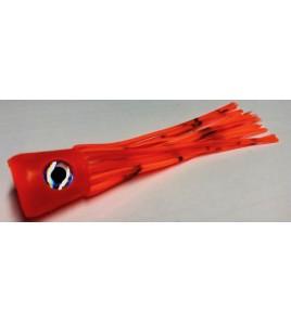 Kona per la Pesca a Pitch Marlin o Vela Testa Concava Morbida Cm 14 Colore Arancio