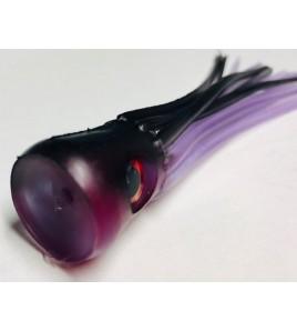 Kona per la Pesca a Pitch Marlin o Vela Testa Concava Morbida Cm 14 Colore Violet Black