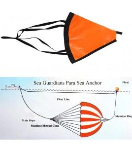 ANCORE GALLEGGIANTI PARA-ANCHOR SEA GUARDIANS Diametro 260 CM Barca Fino a 9 Metri