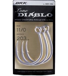 AMO BKK DIABLO 8091-HG MIS 1/0 TRAINA E VERTICAL JIGGING HOOKS