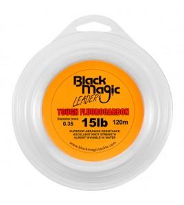 FILO TOUGH FLUOROCARBON BLACK MAGIC DIAMETRO 15 LB MM 035 BOBINE DA 120 MT