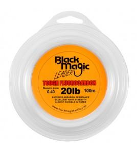 FILO TOUGH FLUOROCARBON BLACK MAGIC DIAMETRO 20 LB MM 040 BOBINE DA 100 MT