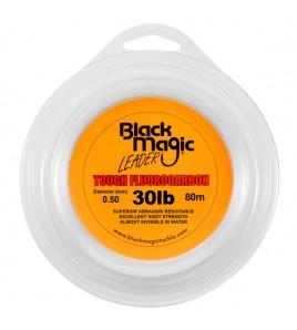 FILO TOUGH FLUOROCARBON BLACK MAGIC DIAMETRO 30 LB MM 050 BOBINE DA 80 MT