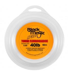 FILO TOUGH FLUOROCARBON BLACK MAGIC DIAMETRO 40 LB MM 060 BOBINE DA 60 MT