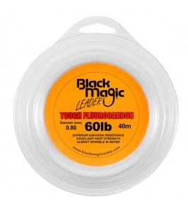 FILO TOUGH FLUOROCARBON BLACK MAGIC DIAMETRO 60 LB MM 080 BOBINE DA 40 MT