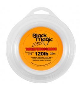 FILO TOUGH FLUOROCARBON BLACK MAGIC DIAMETRO 120 LB MM 120 BOBINE DA 20 MT