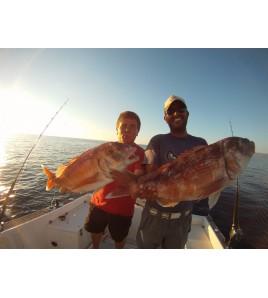 Pescare in Sardegna con Zambofishing Andremo a pescare nelle spendide acque di STINTINO e BOSA