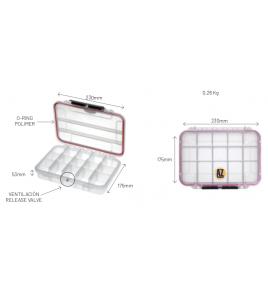 Cassettina BOX MAX 002 T MM 230x175 h 53 Impermeabile