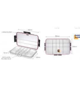Cassettina BOX MAX 003 T MM 350x230 H 59 Impermeabile