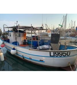 PESCA TURISMO CON ZAMBO FISHING E MICHELE PARTENZA DA CECINA MARE
