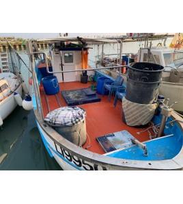 PESCA TURISMO A CECINA MARE CON ZAMBO FISHING E MICHELE PARTENZA DA CECINA MARE