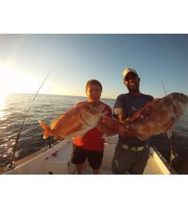 Pescare in Sardegna con Zambofishing e Franco Andremo a pescare nelle splendide acquE DI BOSA